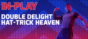 Double Delight and Hat Trick Heaven at Betfred