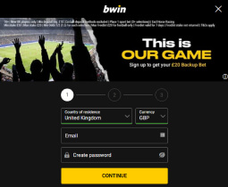 How to create an account at bwin